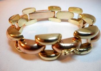 Gold Bracelet - yellow gold - Elma - 1930